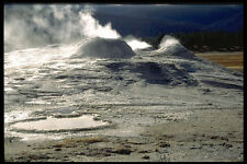 736053 terreni vulcanici UPPER Geyser bacino YELLOWSTONE NATIONAL PARK Stati Uniti A4 PHOTO P