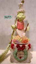LENOX A GRINCHY FEAST Grinch Ornament NEW in BOX