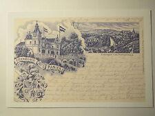 Tübingen - Corps Franconia / Frankonia - Frankenhaus + Wappen / Studentika