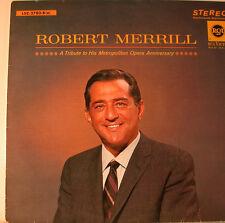 """ROBERT MERRILL - A HOMMAGE - LA TRAVIATA - DON CARLOS - HAMLET 12"""" LP (L44)"""