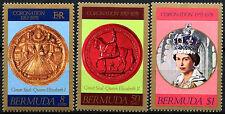 Bermuda 1978 Coronation 25th Anniv MNH Set #R503