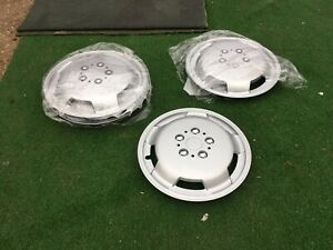 "Motorhome ducato / boxer / transit 16"" hub cap wheel trim set of 4"