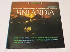 EUGENE ORMANDY PHILADELPHIA ORCH FINLANDIA GRIEG ALFVEN LP ,COLUMBIA ( B9)