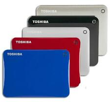 "Toshiba Canvio Connect II V8 2TB 2.5"" Portable External Hard Drive 2 TB 4 Colors"