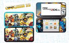 LEGO NEXO KNIGHTS - vinyl Skin Aufkleber für Nintendo NEW 2DS XL - réf 207