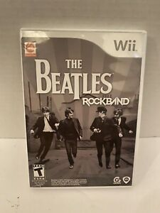 The Beatles: Rock Band Nintendo Wii Game 2007
