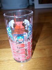 AMERICAN FOOTBALL EASTERN DIVISION NFL IN ACTION GLASS WELCHES VINTAGE 1970 NICE