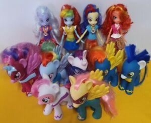 My Little Pony Power Ponies x7 Superhero + 4 dolls job lot