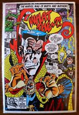 THE MARVEL MAG OF MIRTH AND MAYHEM! WHAT THE..?! #19 (1992, MARVEL) Comics-Books