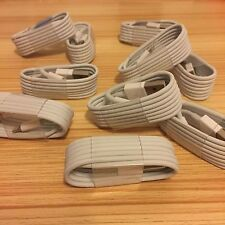 10X 8 Pin USB Charger Cord Cable for iPhone 6 5S 5 5C iPhone 6S Wholesale Lot