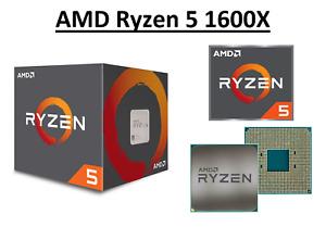 AMD Ryzen 5 1600X Hexa Core Processor 3.6 - 4.0 GHz, Socket AM4, 95W CPU Only