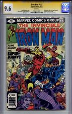 IRON MAN #127 CGC 9.6 SS BOB LAYTON