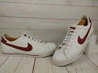 Nike Mens Sweet Classic Leather Tennis Gray Shoes