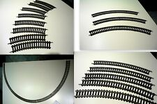Lima HO VINTAGE 29 Tracks: 11 Big Radius Curve and 18 Curve Tracks, never used