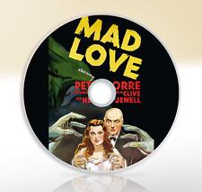 Mad Love (1935) DVD Classic Sci-Fi Movie / Film Peter Lorre Frances Drake