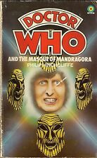 DOCTOR WHO<>MASQUE OF MANDRAGORA by PHILIP HINCHCLIFFE<>TARGET PAPERBACK ~