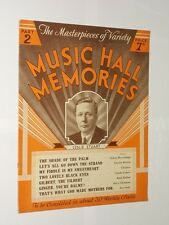 Music Hall Memories Part 2 By Leslie Stuart. The Masters Of Variety Series.1935.