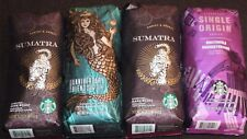 4 LBS STARBUCKS WHOLE BEAN COFFEE LOT - Anniversary Blend Sumatra Single Origin