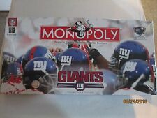 Giants Collector's Edition Monopoly Game 2006