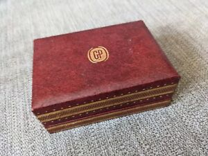Vintage Girard Perregaux Red Watch Box made in Sweden - No Reserve