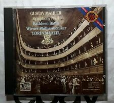 Gustav Mahler - Symphony No. 4 - Lorin Maazel - VPO - CBS Masterworks CD
