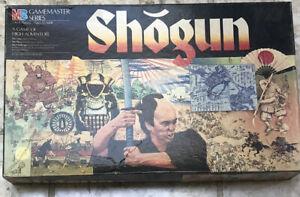 1986 Shogun by Milton Bradley Complete in Great Condition Samurai Swords Game