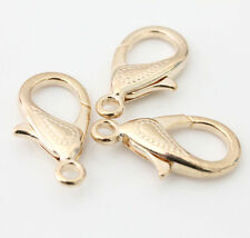 5Pcs 30mm Metal LOBSTER CLAW CLASPS - Bronze, Gold & SILVER PLATED Wholesale