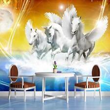 POSTER carta da parati Fotomurale Parete Immagine Carta da parati immagine foto poster Pegasus Cavallo 587 p4