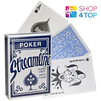 STREAMLINE BLUE PLAYING CARDS DECK MAGIC TRICKS POKER MADE IN USA CLASSIC NEW