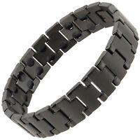 NEUF sisto-x Homme Bracelet magnétique en titane noir centurion santé Hi Power