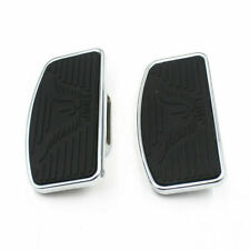 1 Pair Adjustable Floorboard Footboards Footrest Motorcycle For Harley Sportster