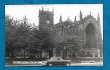 1960s RP PC CHURCH OF ST. PETER, BURNLEY - D. BRADSHAW PHOTOGRAPHER