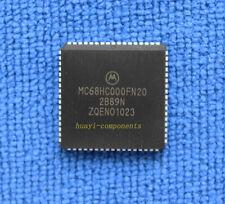 1pcs MC68HC000FN20 68HC000FN 32-Bit 20MHz MPU PLCC68
