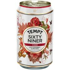 TEMPT Sixty Niner Strawberry Lime Cider 4,5% vol 24 x 33cl Tray