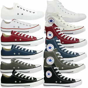 Converse Chuck Taylor All Star Classic Hi Ox Schuhe Sneaker Damen Herren Unisex