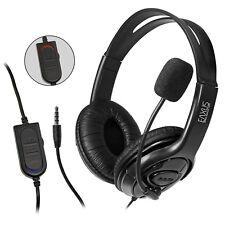 Gaming Headset PS4 Playstation 4 Computer Stereo Sound kabelgebunden 3,5mm EAXUS
