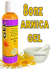 ARNICA MONTANA GEL CREAM 8 Oz PAIN RELIEF BRUISES MUSCLE ACHES NATURAL REMEDIES