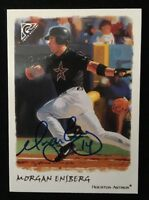 MORGAN ENSBERG 2002 TOPPS GALLERY AUTOGRAPHED SIGNED AUTO BASEBALL CARD 157 ASTR