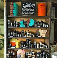 Lush Solid Hair Shampoo Natural Organic Vegan Handmade Handcrafted FREE Shipping