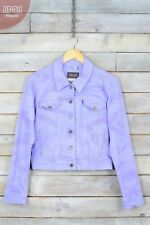 Plus Size Denim Hip Length Coats & Jackets for Women