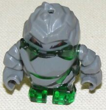 LEGO GREEN ROCK MONSTER BOULDERAX MINIFIGURE KEYCHAIN REMOVED