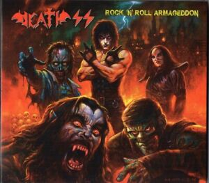 DEATH SS - Rock'n'Roll Armageddon CD DIGIPACK - Lucifer Rising - SEALED