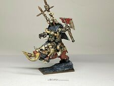 Warhammer Orcs and Goblins -  Orc Warboss Gorbad Ironclaw - Metal OOP