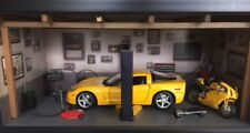 CORVETTE 1/18 FINISHED IN SUNSHINE YELLOW, SPORT COUPE.