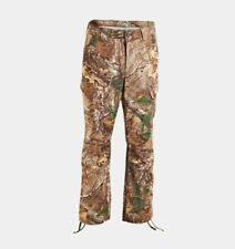 UNDER ARMOUR RealTree Ap Xtra Camo STORM PERFORMANCE FIELD HUNTING PANTS 36 X 32