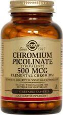 Chromium Picolinate 500mcg Solgar 120 VCaps