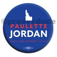 "2018 Official Paulette Jordan Idaho Governor 2-1/4"" Campaign Pin Pinback Button"