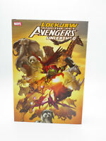 Lockjaw and The Pet Avengers Unleashed Marvel Comics Hardcover Free Ship