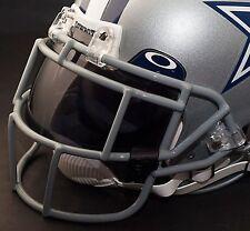 DALLAS COWBOYS NFL Schutt EGOP Football Helmet Facemask/Faceguard (GRAY)