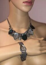 CHLOE AND ISABEL Northern Lights Statement Necklace Bracelet Set